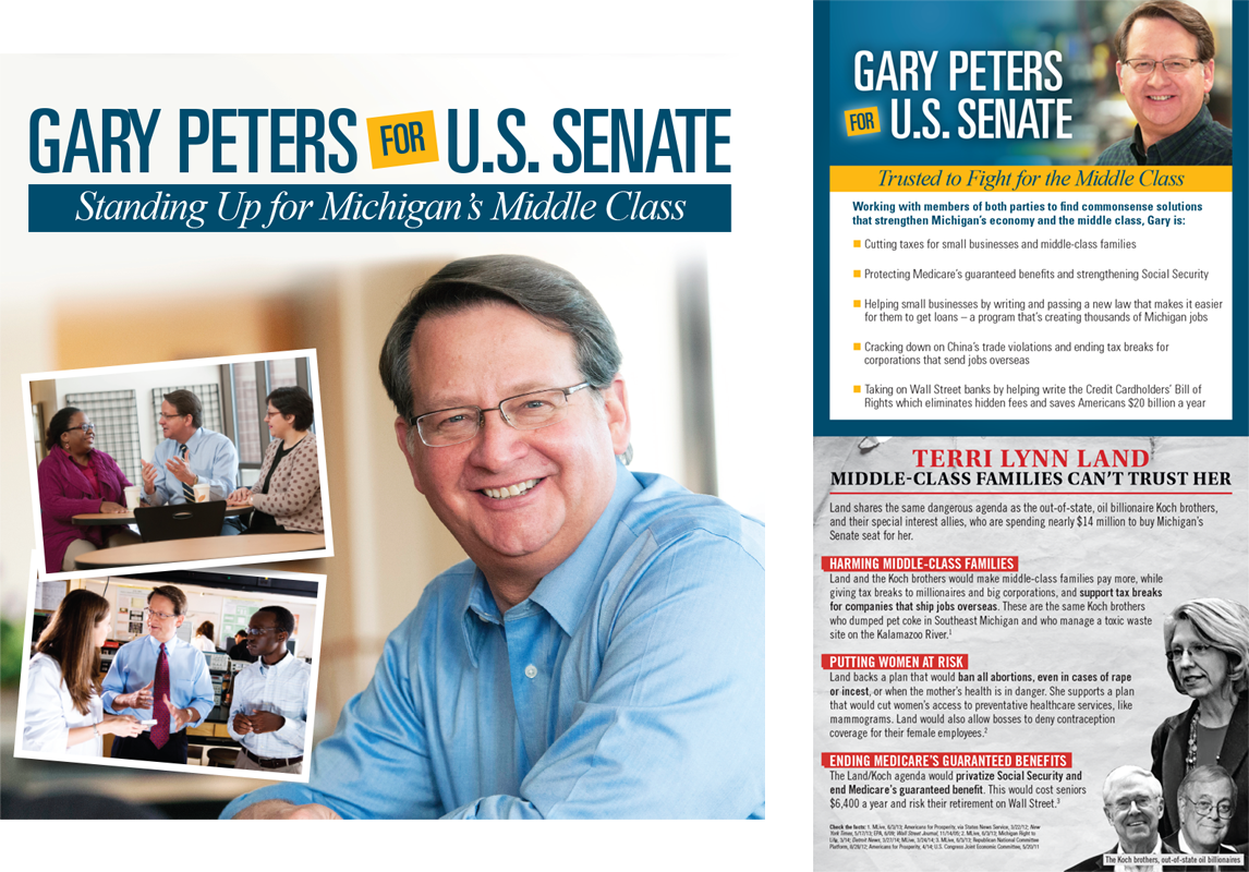 Senator Gary Peters - Moore Campaigns